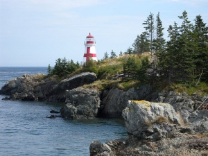 East Quoddy Head Lighthouse, Campobello Island, New Brunswick
